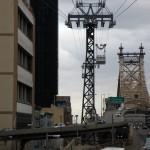 Le téléphérique de New York depuis la station côté Manhattan