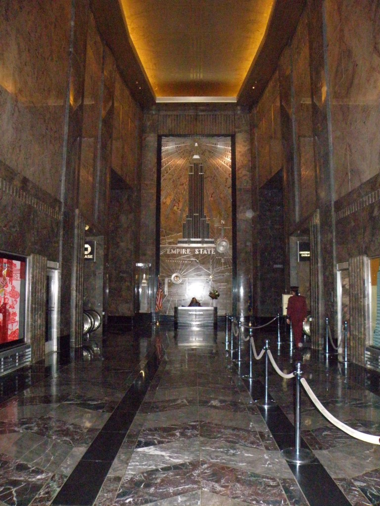 Hall d'entrée de l'Empire State Building